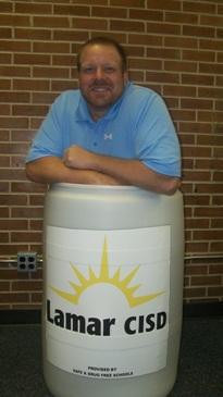 Paul in a Barrel