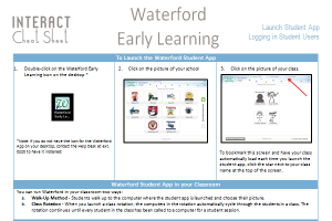 Waterford Training Interact Cafe